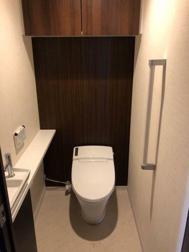 トイレ シックな雰囲気なトイレです。
