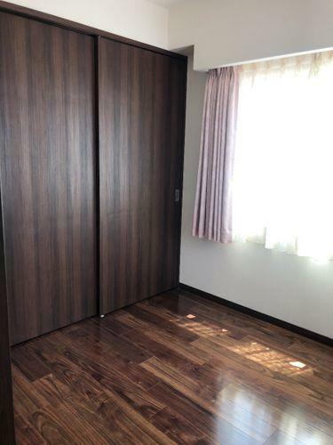 収納 大きめなクローゼット付きのお部屋です。