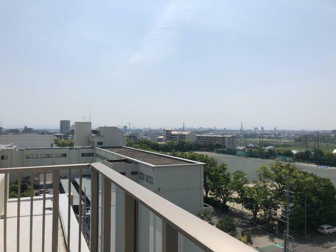 眺望 バルコニーからの眺望です。