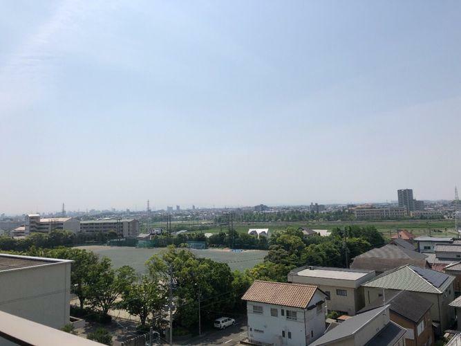 眺望 マンション7階からの眺望です。