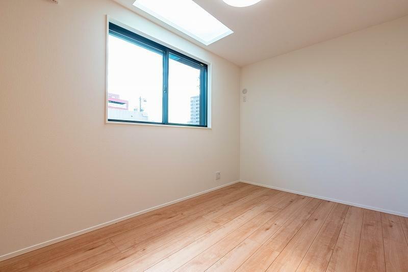 洋室 全ての部屋が明るく心地よい部屋になっています。