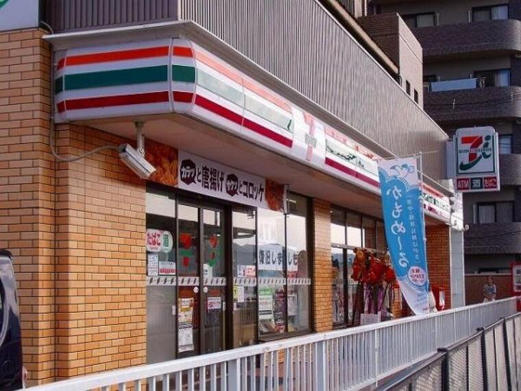 コンビニ セブンイレブン 広島戸坂千足店