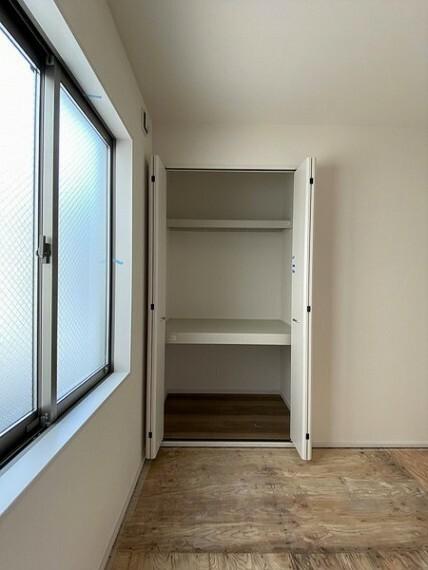 収納 収納スペースを利用することで室内を広くお使いいただけます。