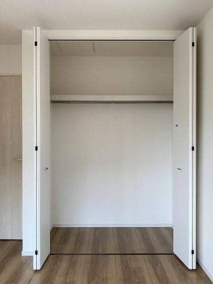 収納 室内を広く使うことを可能にするクローゼット