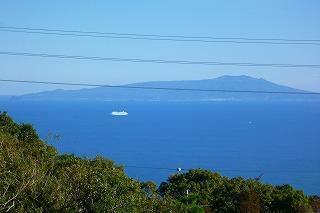 現況写真 伊豆大島を望みます