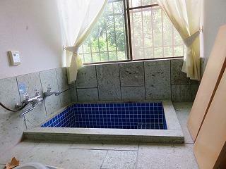 浴室 温泉でのんびりと