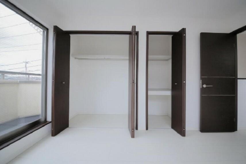 収納 豊富な収納スペースでお部屋がすっきり片付きます!