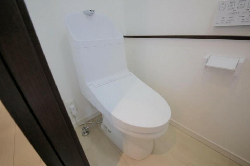 トイレ シャワートイレは1階と2階にございます!