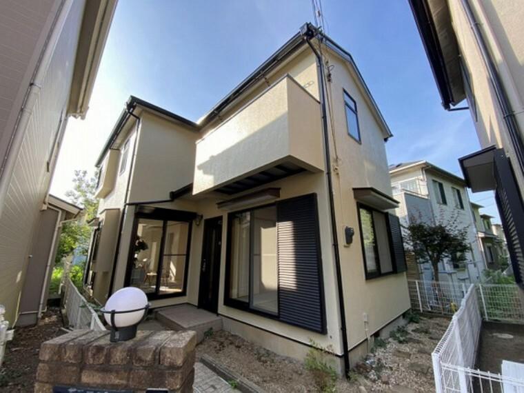 外観写真 三井ホーム施工の2×4住宅!