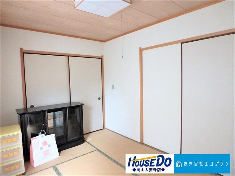 和室 和室があることで落ち着きと癒しの空間が生まれます。来客時の客室としても、お子様のプレイルームやお昼寝にも最適。