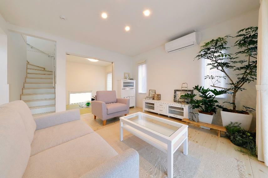 居間・リビング インテリアショップとのコラボレーションモデルハウス