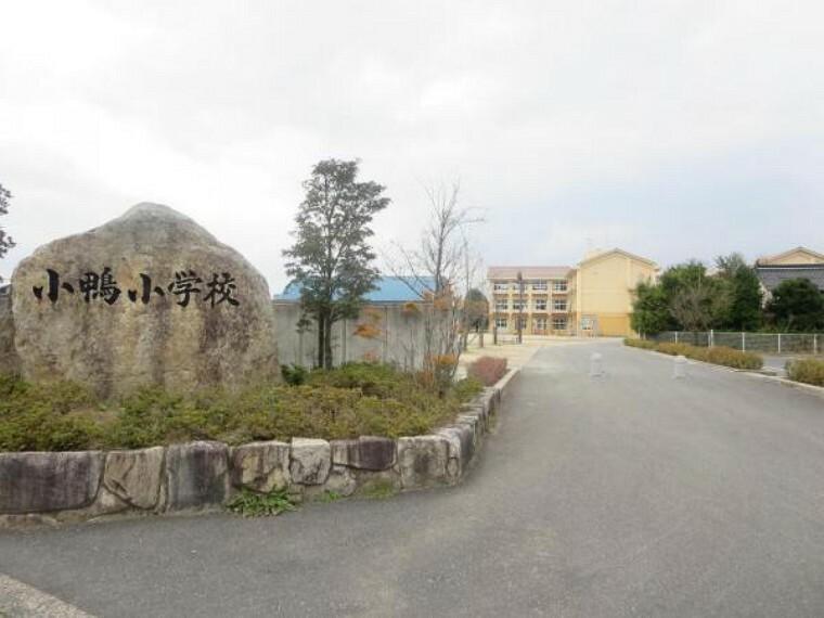 小学校 【近隣写真】小鴨小学校まで約1100m。登下校の際には、お友達との会話を楽しめそうですね。