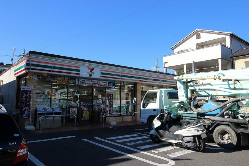 コンビニ セブンイレブン静岡上伝馬店