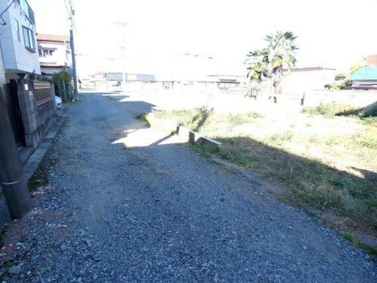 現況写真 前面道路です。