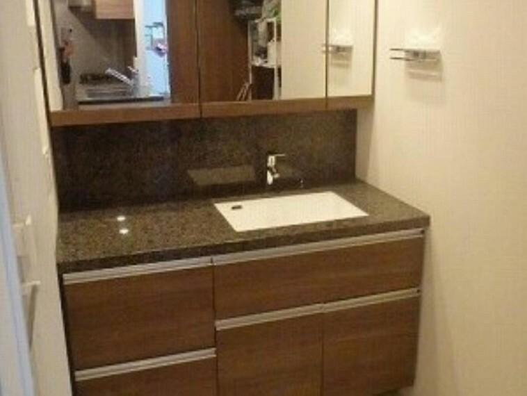 洗面化粧台 カウンター・シャワー付き洗面化粧台