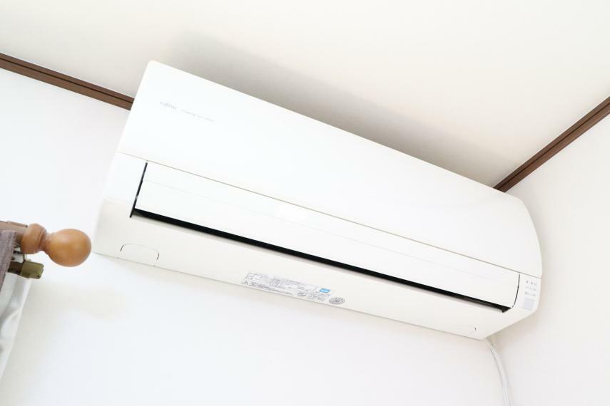 冷暖房・空調設備 エアコン完備で快適です!