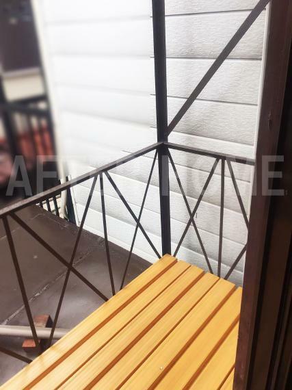 バルコニー ※空家当時の室内写真 2階和室4.5帖 物干し
