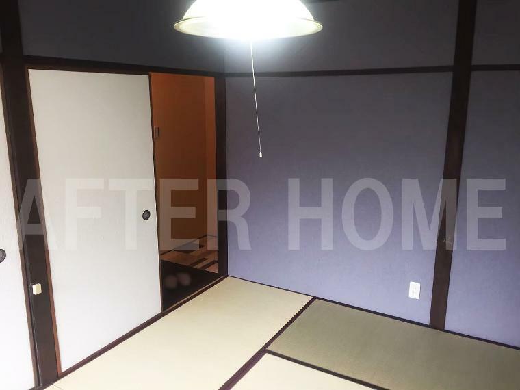 洋室 ※空家当時の室内写真 2階和室6帖