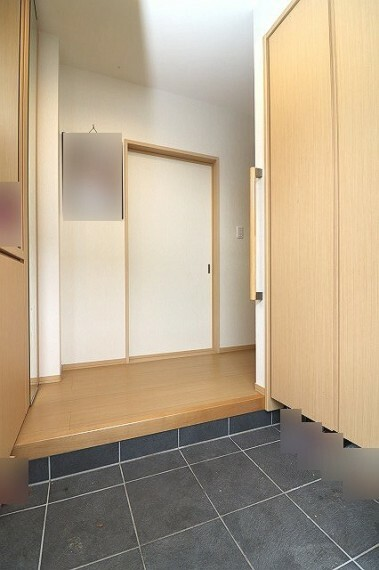 玄関 清潔感のある玄関