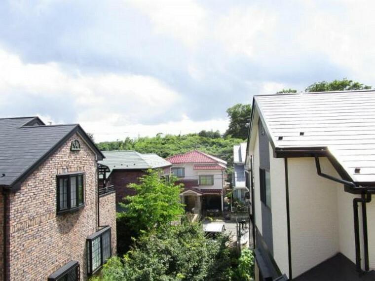 眺望 閑静な住宅街が広がっています