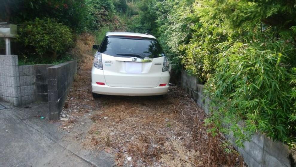 赤道1.5m~2mから入ると普通車駐車スペースあり