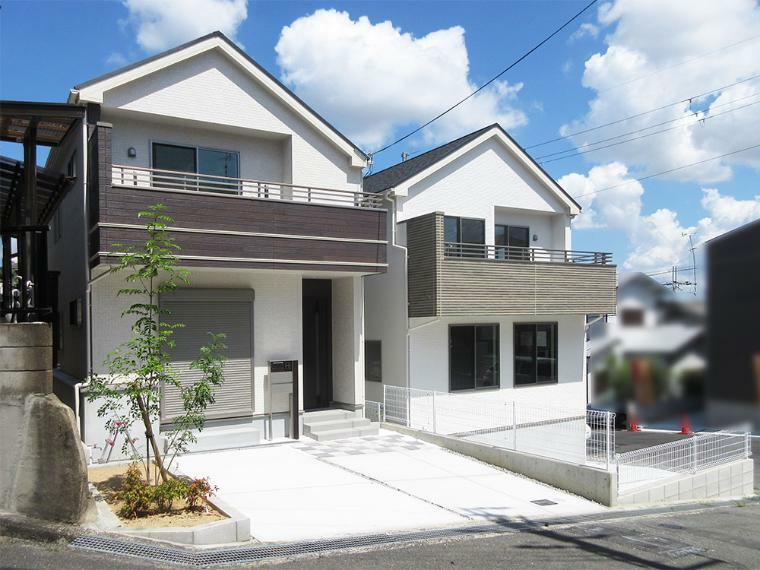 現況外観写真 7つの技術基準をクリアした安心の長期優良住宅!いつでもご案内出来ます!