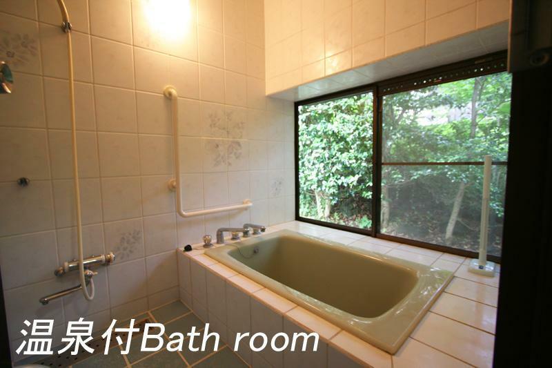 浴室 熱い温泉を楽しめます
