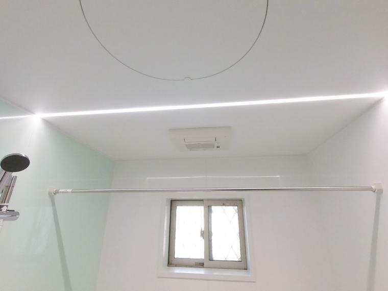 浴室 浴室フラットラインLED照明