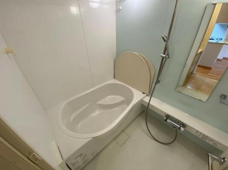 浴室 改装された綺麗な浴室で1日の疲れを癒せます