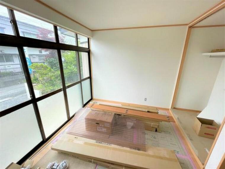 【リフォーム中5/24更新】1階東側の6帖和室です。6帖和室に変更して、クローゼットも新設しました。