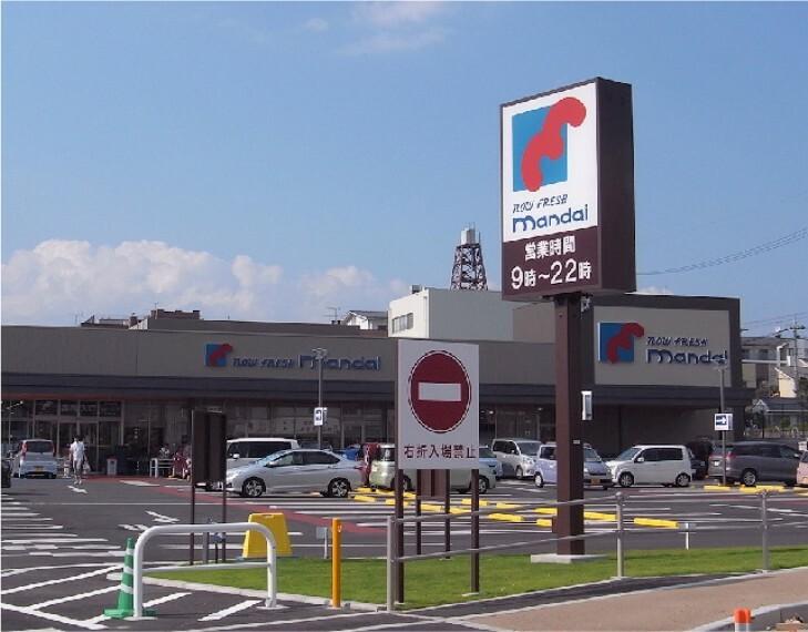スーパー 万代紀寺店まで徒歩15分■営業時間 9:00~22:00