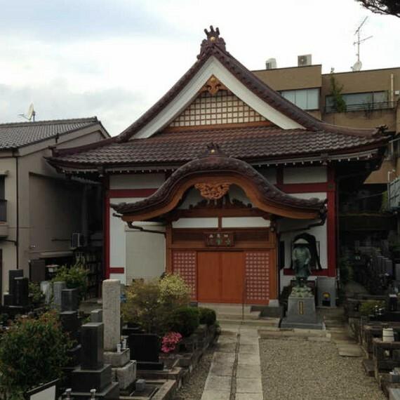 【寺院・神社】法雲寺まで1864m