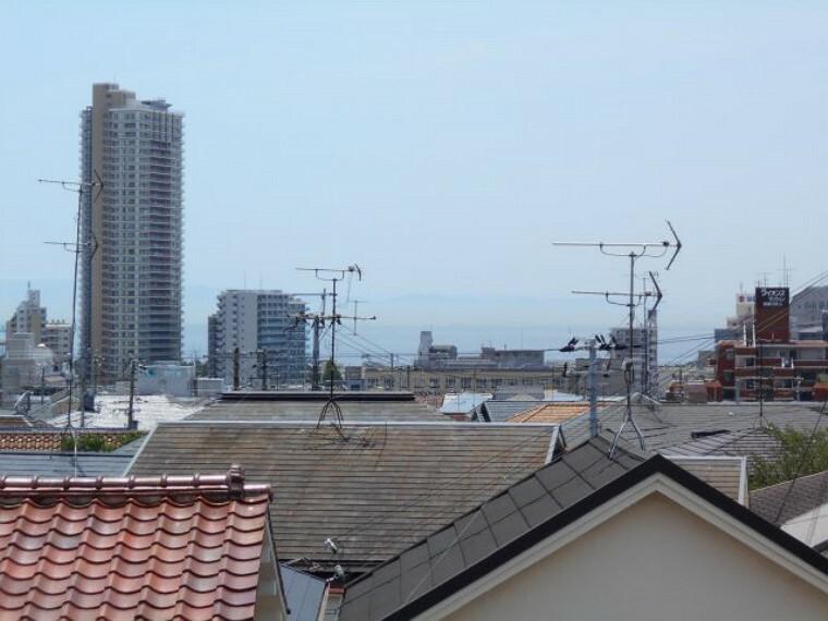 眺望 ルーフバルコニーからの眺望。