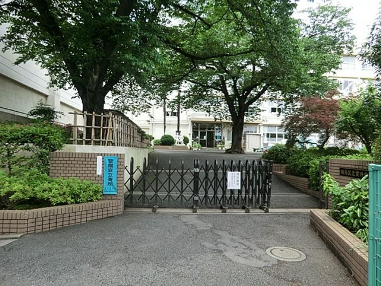 中学校 練馬区立貫井中学校
