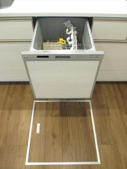 キッチン 食器洗洗浄機!床下収納!