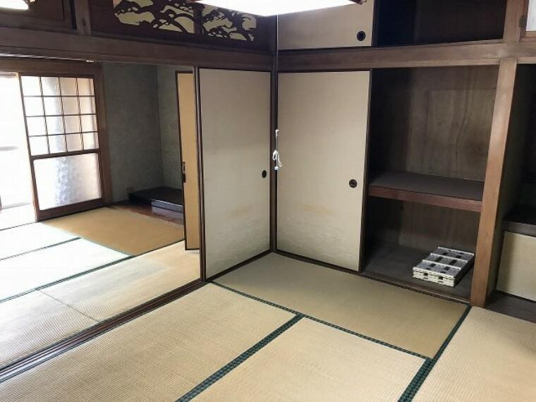 和室 い草の香りが落ち着く素敵な和室です