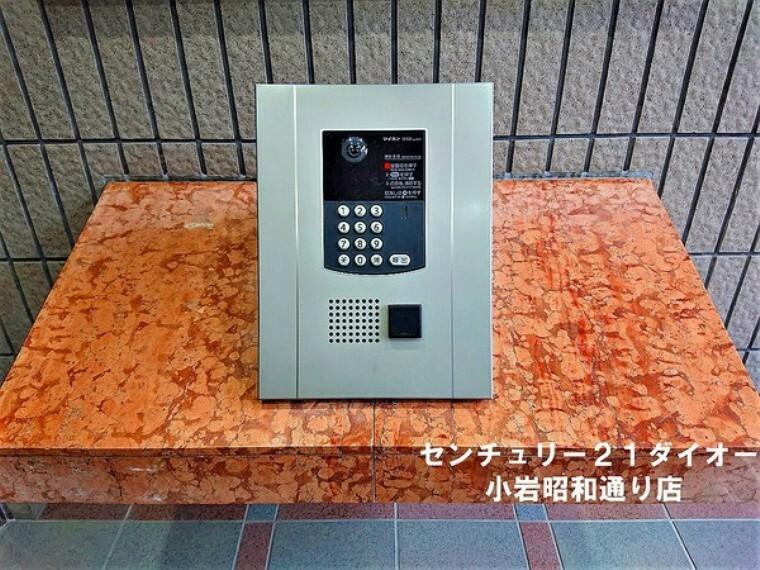 エントランスホール オートロック・インターフォン