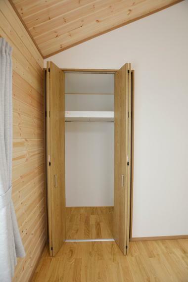 収納 (洋室4.5帖・5帖)各居室に収納有。天井まで無駄なく収納できます。