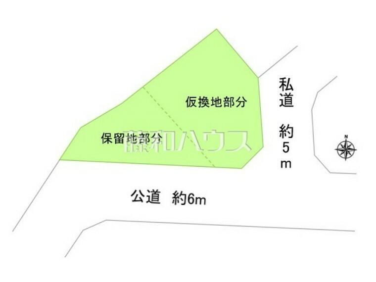 区画図 区画図 【稲城市矢野口】
