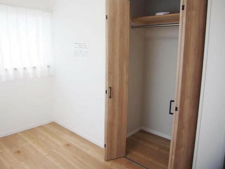 収納 クローゼット付きで、お部屋もスッキリ。