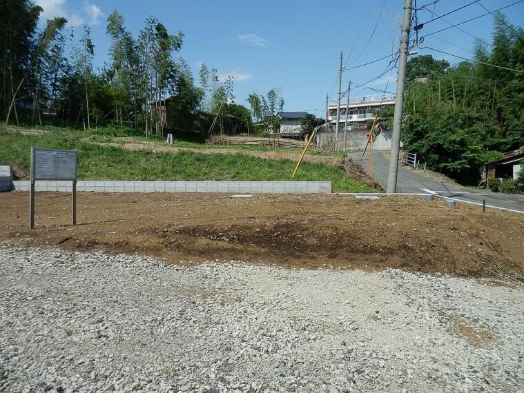 現況写真 ライフラインは公営水道・合併浄化槽地域
