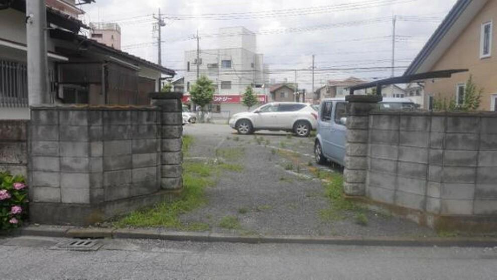現況写真 2路線利用可能なJR「宇都宮」駅徒歩圏内の立地です。