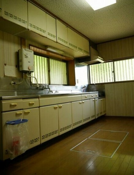 キッチン 広々使えるキッチン