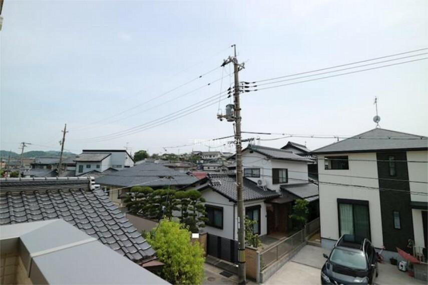 現況写真 2Fバルコニーからの眺望