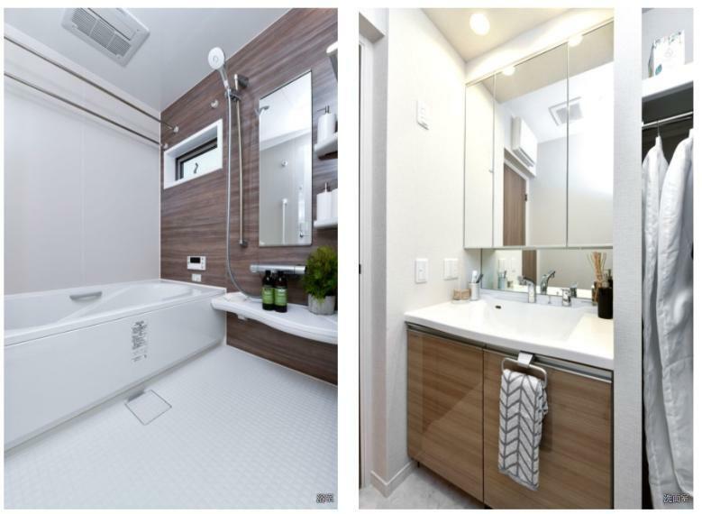 浴室 BATHROOM & DRESSING ROOM