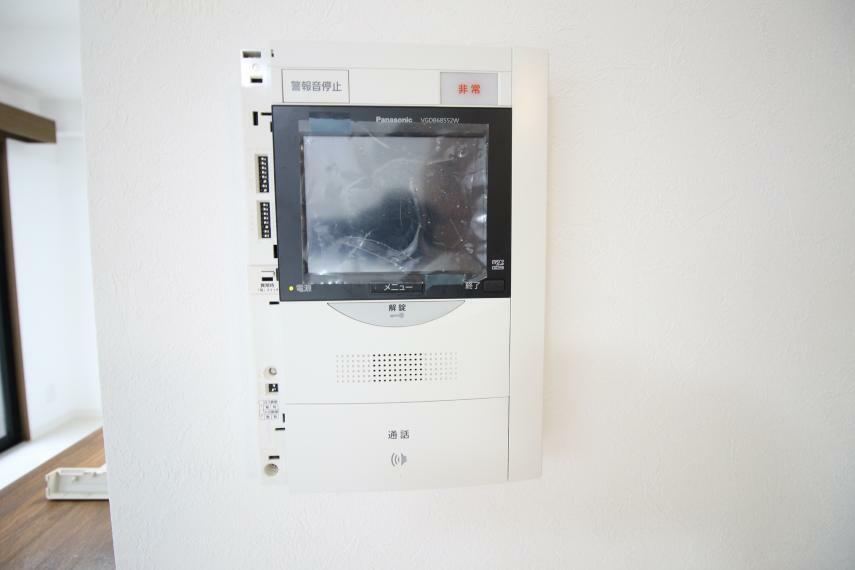 TVモニター付きインターフォン モニタ付きインターホン