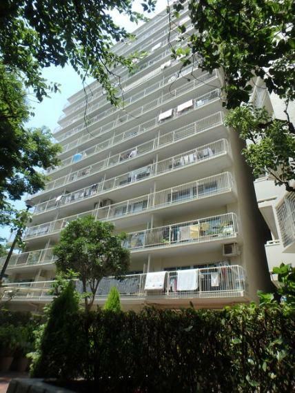 外観写真 1979年11月築 SRC造15階建4階部分 南向