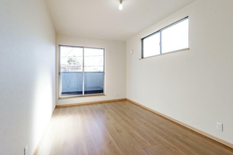 洋室 B号棟 専用収納スペースが付いたゆったりくつろげる洋室!