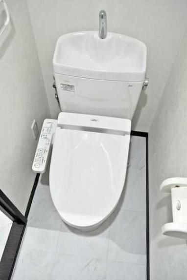トイレ 新品のウオシュレット付!