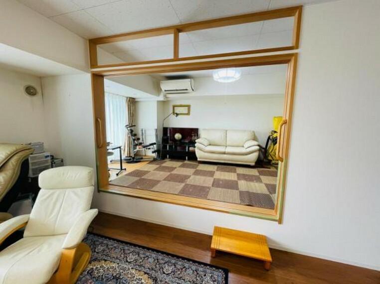 小上がりの居室は趣味スペースに使用してもいいですね!